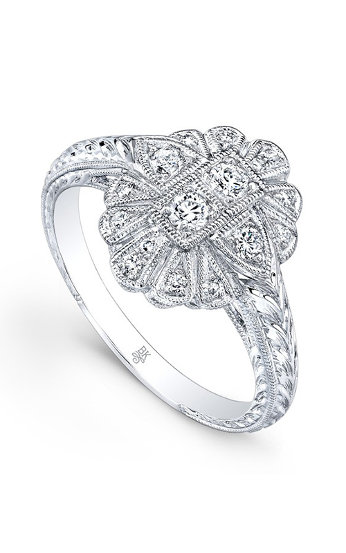 Beverley K Floral Engagement ring R9277A-DDD product image