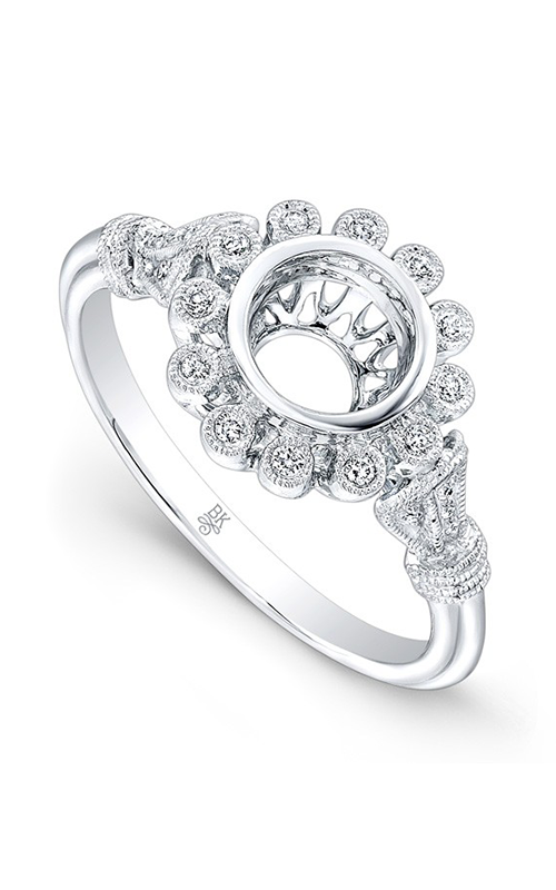 Beverley K Floral Engagement ring R9793A-DDCZ product image