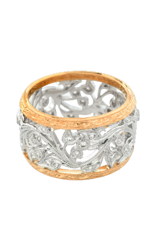 Beverley K Two-Tone Wedding band R725-DD product image