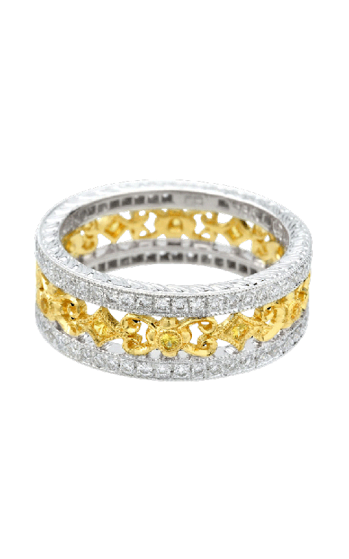 Beverley K Two-Tone Wedding band R818-DYS product image