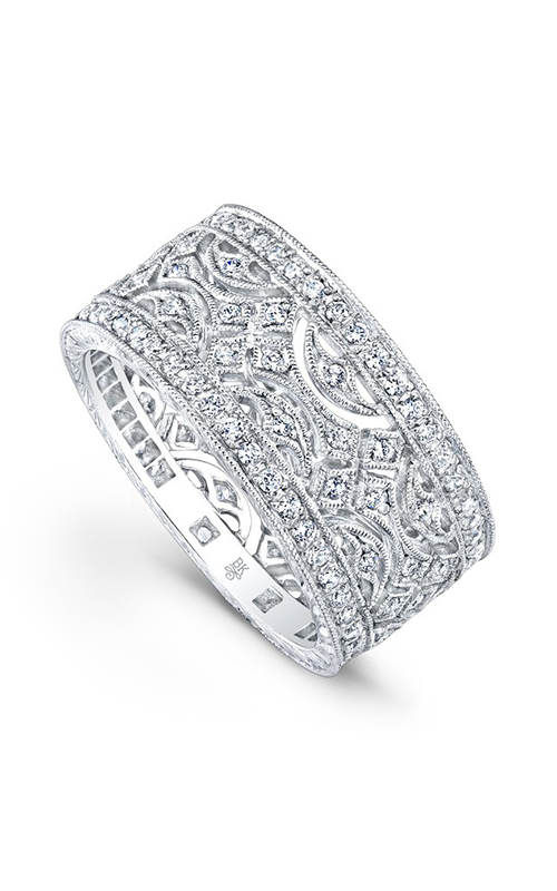 Beverley K Wide Wedding band R716-DD product image