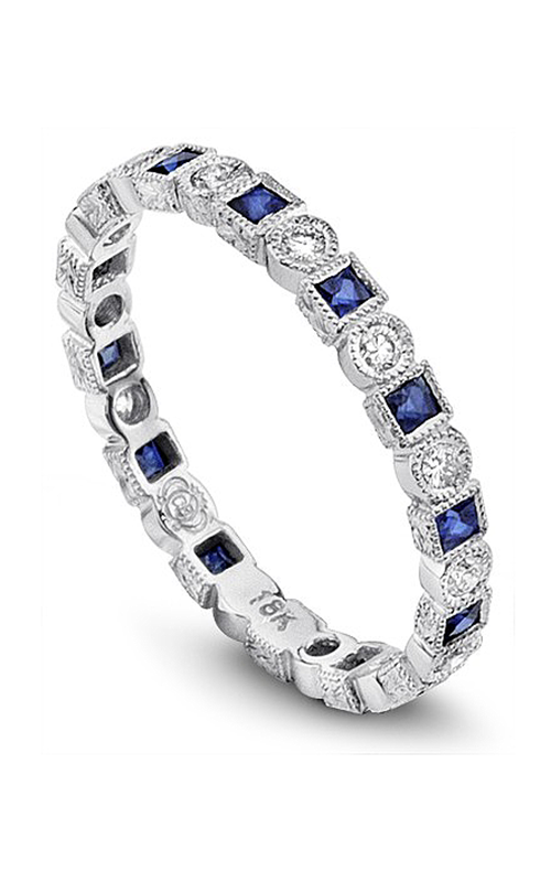 Beverley K Stackable Wedding band R140-DS product image