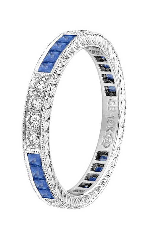 Beverley K Stackable wedding band R147-DS product image