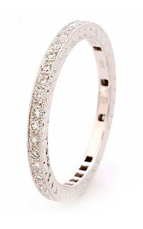 Beverley K Stackable Wedding band R195-DD product image