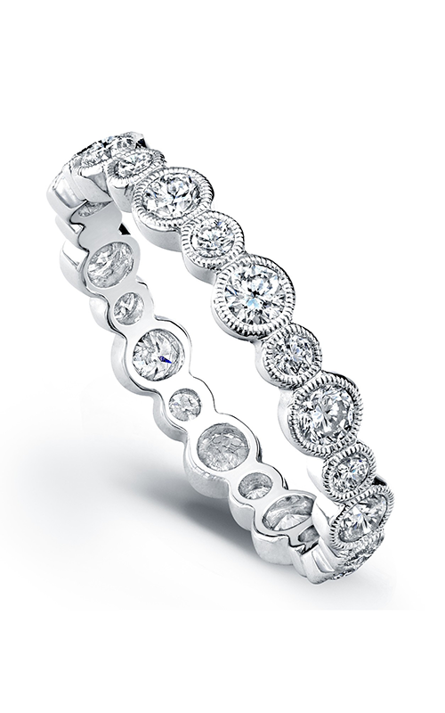 Beverley K Stackable wedding band R9085-DDM product image