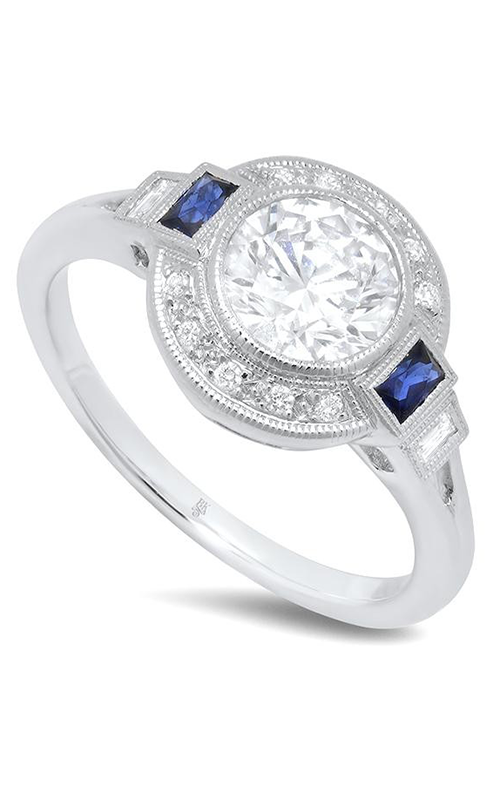 Beverley K Halo Engagement ring R9419 product image