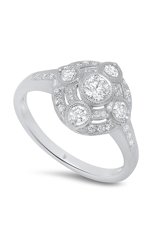 Beverley K Halo engagement ring R11837 product image