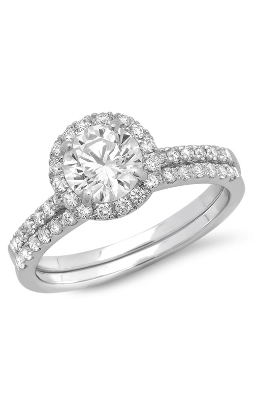 Beverley K Halo Engagement ring R10831 product image