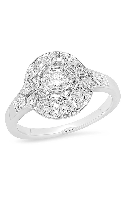 Beverley K Halo engagement ring R11119 product image