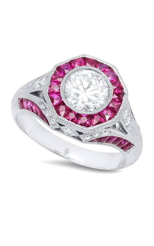 Beverley K Halo Engagement ring R153 product image
