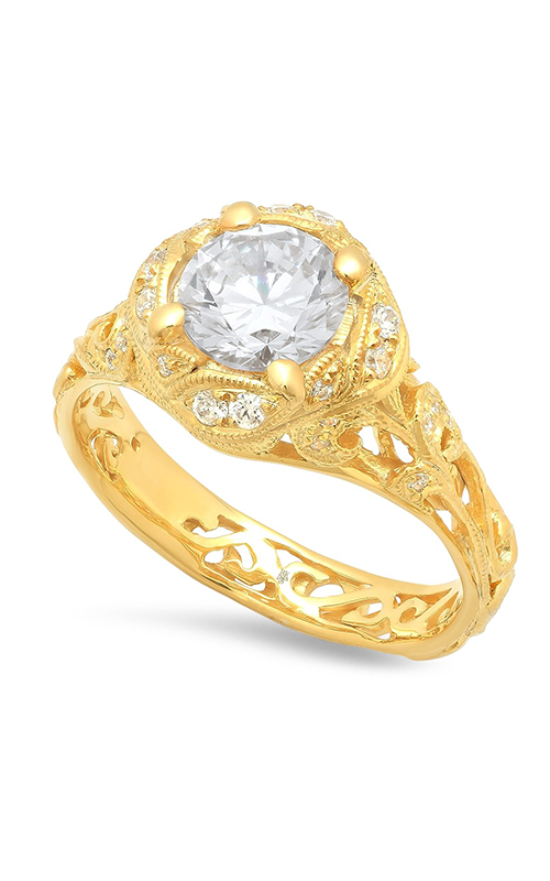 Beverley K Halo Engagement ring R10439 product image