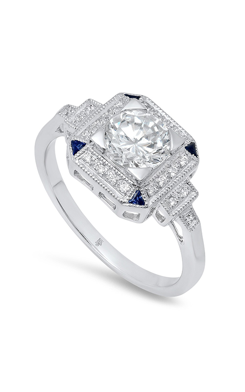 Beverley K Halo Engagement ring R9427 product image