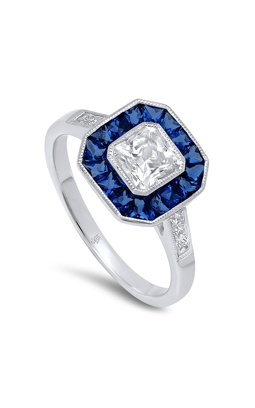 Beverley K Halo Engagement ring R9463 product image