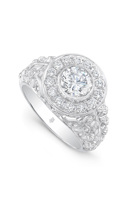 Beverley K Halo engagement ring R10436 product image