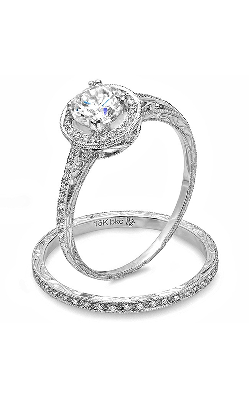 Beverley K Halo engagement ring R9636 product image