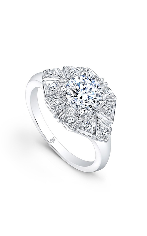 Beverley K Halo engagement ring R9418 product image