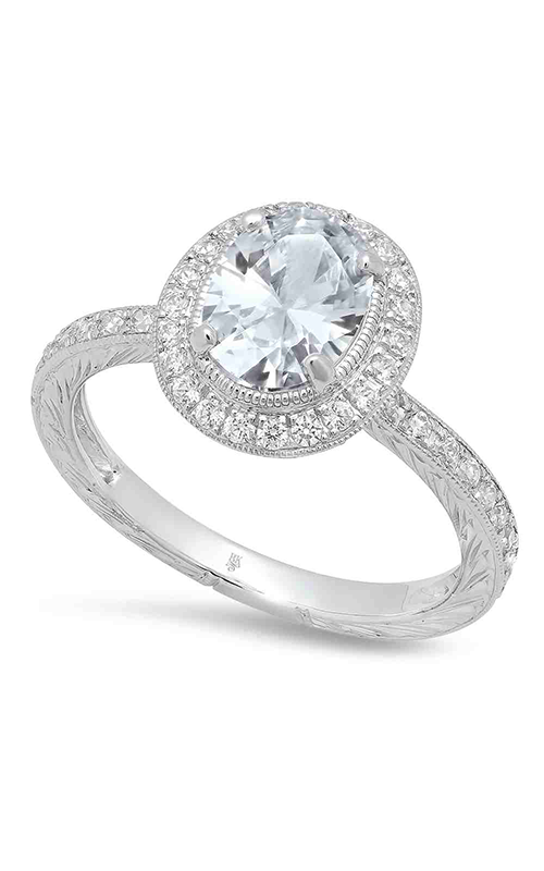 Beverley K Halo Engagement ring R9018 product image