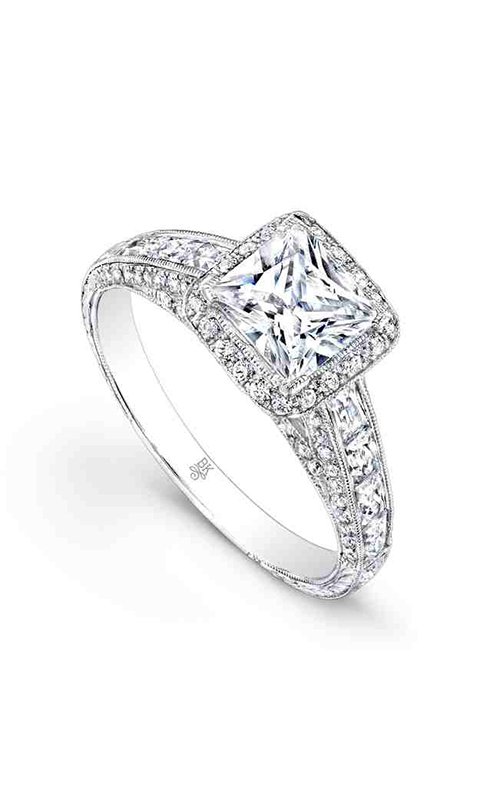 Beverley K Halo engagement ring RTJ010 product image