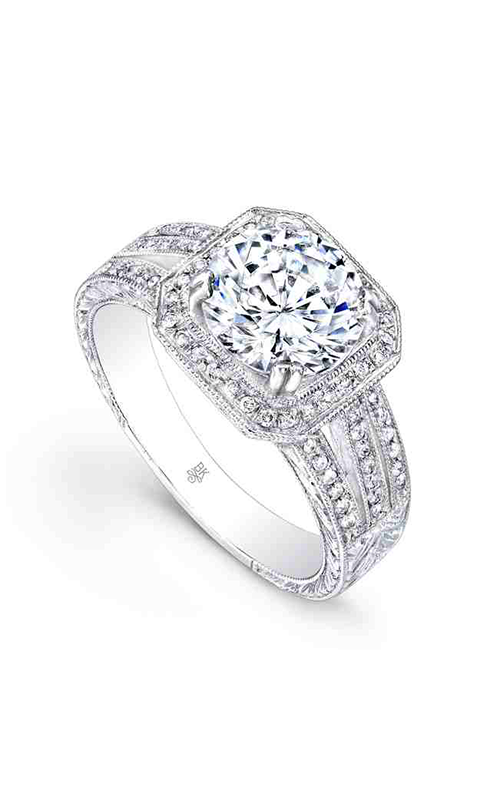 Beverley K Halo Engagement ring R667 product image