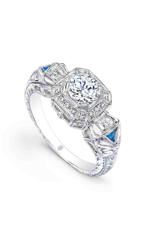 Beverley K Halo engagement ring R9285 product image