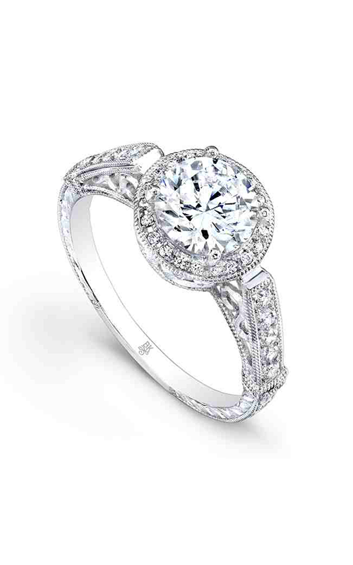 Beverley K Halo engagement ring R9234 product image