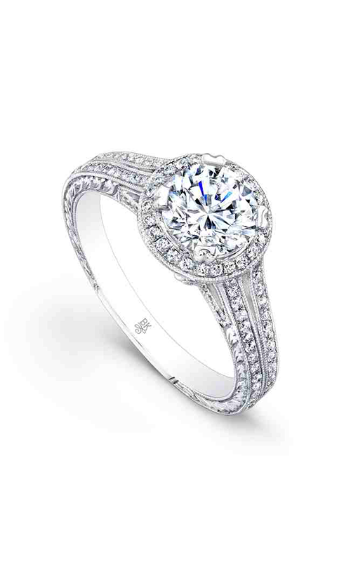 Beverley K Halo engagement ring R658 product image