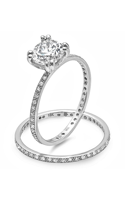 Beverley K Engagement Sets R4018C-DDCZ product image