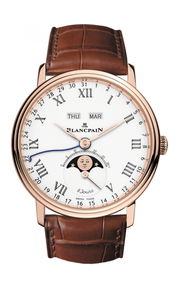 Blancpain Villeret Watch 6639-3631-55B product image