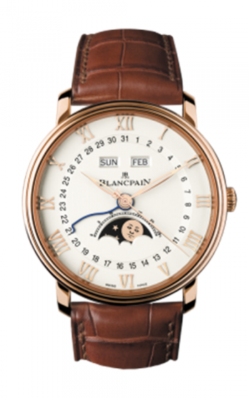 Blancpain Villeret Watch 6654-3642-55B product image
