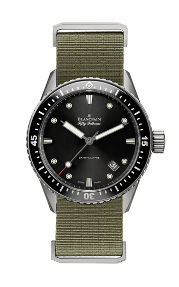 Blancpain Fifty Fathoms Watch 5000-1230-NAKA product image