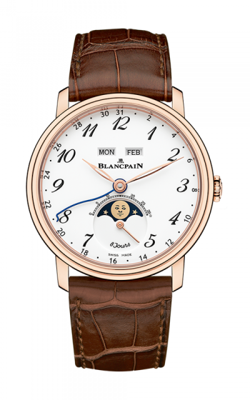 Blancpain Villeret Watch 6639A-3631-55B product image