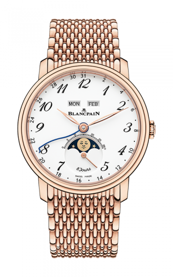 Blancpain Villeret Watch 6639A-3631-MMB product image