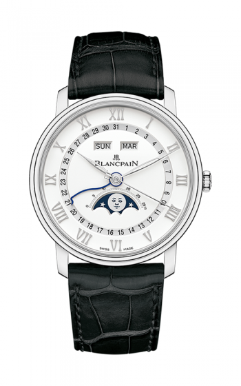 Blancpain Villeret Watch 6654A-1127-55B product image