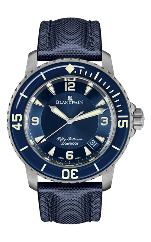Blancpain Fifty Fathoms 5015-12B40-O52A product image