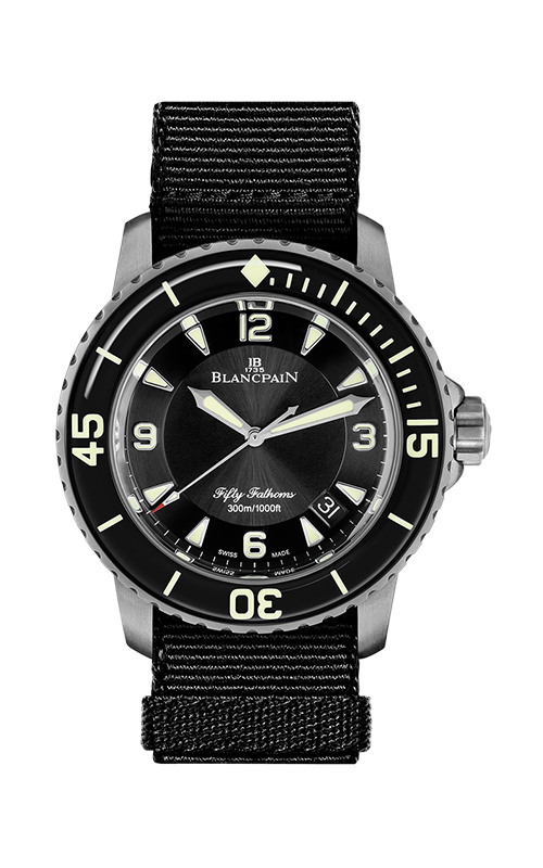 Blancpain Fifty Fathoms Watch 5015-12B30-B52A-NABA product image