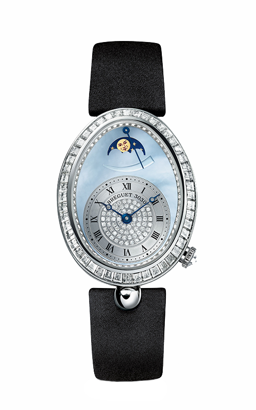 Breguet Reine de Naples Watch 8909BB/VD/864/D00D product image