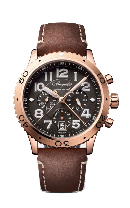 Breguet Type XX - XXI - XXII Watch 3817BR/Z2/3ZU product image