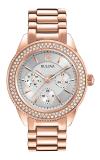 Bulova Crystal Watch 97N101