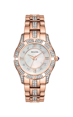 Bulova Crystal Watch 98L197