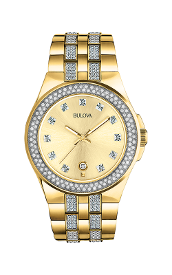 Bulova Crystal Watch 98B174