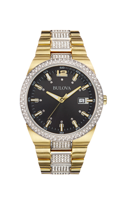 Bulova Crystal Watch 98B235