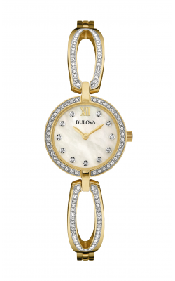 Bulova Crystal Watch 98L225