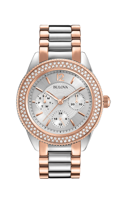 Bulova Crystal Watch 98N100