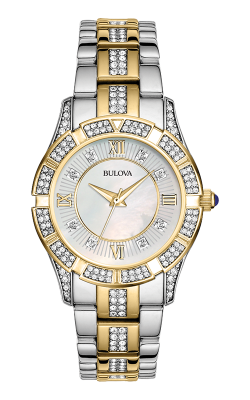 Bulova Crystal Watch 98L135
