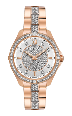 Bulova Crystal Watch 98L229