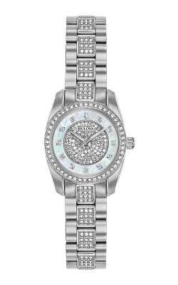 Bulova Crystal Watch 96L253