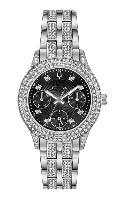 Bulova Crystal Watch 96N110