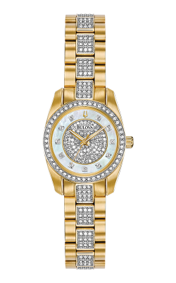 Bulova Crystal Watch 98L241