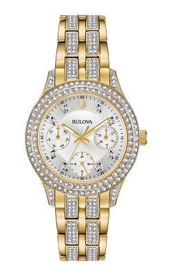 Bulova Crystal Watch 98N112