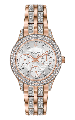 Bulova Crystal Watch 98N113